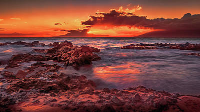 Photograph - Hawaiian Sunset by Susan Rissi Tregoning