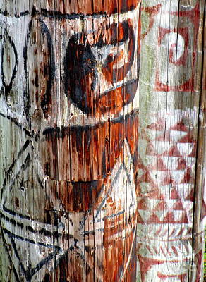 Telephone Poles Photograph - Hawaiian Telephone Pole by Randall Weidner