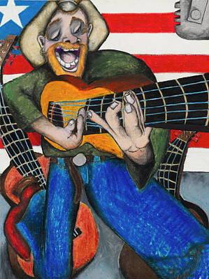 Hawaiian-texas-tunes Print by Billy Knows