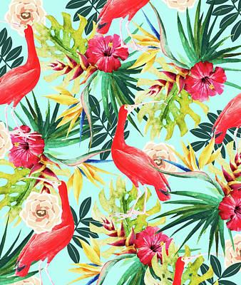 Digital Art - Hawaiian Vibe by Uma Gokhale