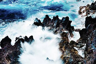 Photograph - Hawaiian Waves by M G Whittingham