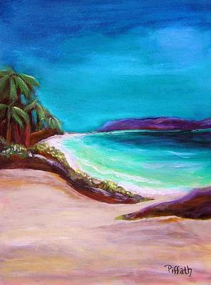 Painting - Hawaiin Blue by Patricia Piffath