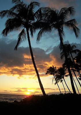 Photograph - Hawaiin Sunset by Charles HALL