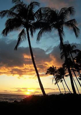 Photograph - Hawaiin Sunset by Charles HALL