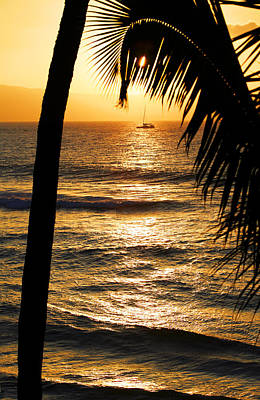 Photograph - Hawaiin Sunset by Marilyn Hunt