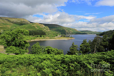 Science Tees Rights Managed Images - Haweswater reservoir, Mardale valley, Lake District Royalty-Free Image by Dave Porter