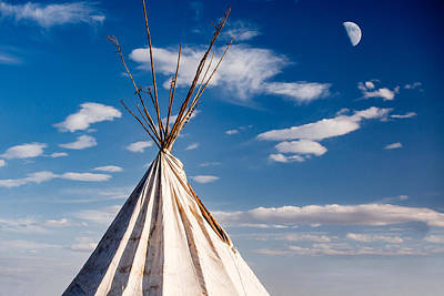 Pow Wow Photograph - Hawi Tipi by Todd Klassy