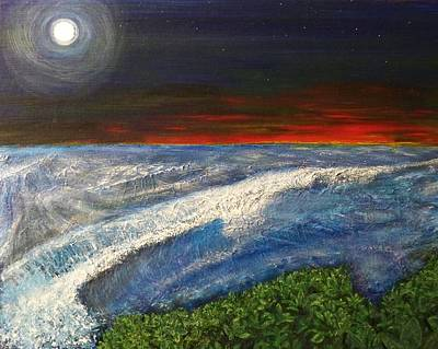 Painting - Hawiian View by Michael Cuozzo