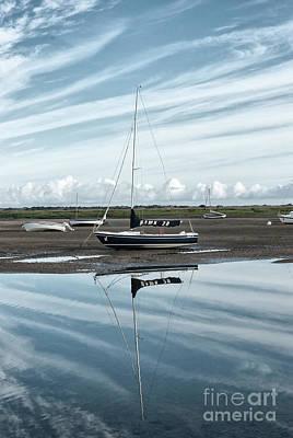 Broad Photograph - Hawk 20 Brancaster Staithe Norfolk by John Edwards