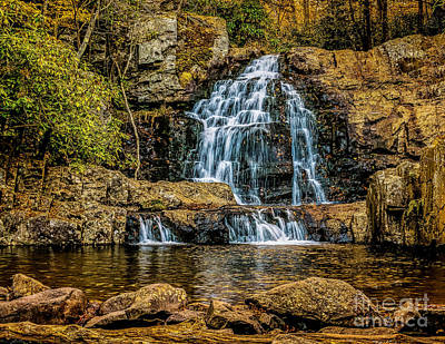 Photograph - Hawk Falls by Nick Zelinsky