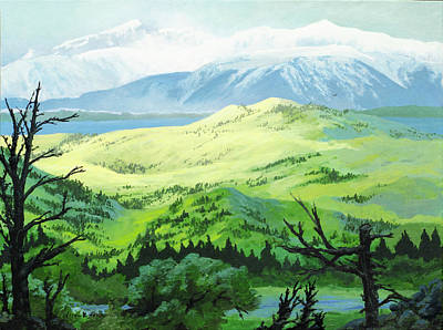 Painting - Hawk Meadows by Lynn Hansen
