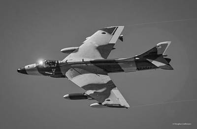 Photograph - Hawker Hunter by Douglas Castleman
