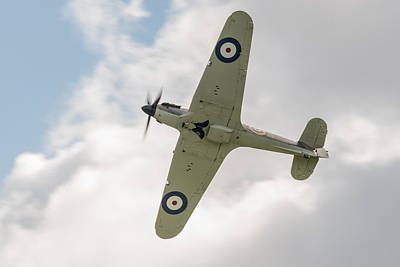 Photograph - Hawker Hurricane Mk I by Gary Eason