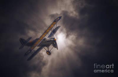 Bi Plane Digital Art - Hawker Nimrod  by Nigel Bangert