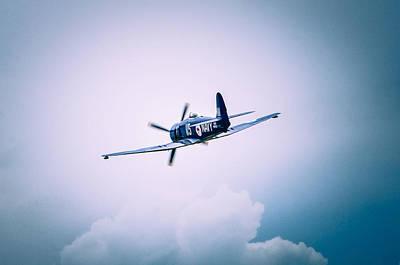 Fury Mixed Media - Hawker Sea Fury Fb11 by Thomas M Pikolin