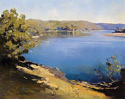New South Wales Painting - Hawkesbury River by Mountain Dreams