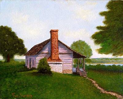 Hawkeye Cabin Art Print
