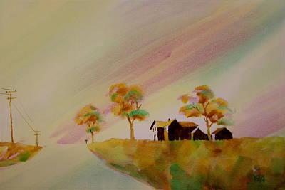 Hawkeye Country Art Print