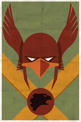 Digital Art - Hawkman by Michael Myers