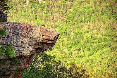 Photograph - Hawksbill Crag - Whitaker Point - Northwest Arkansas by Gregory Ballos