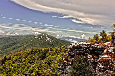Photograph - Hawksbill Mountain by Kevin Senter