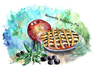 Painting - Haworth Bilberry Pie by Miki De Goodaboom