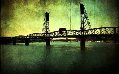 Pdx Photograph - Hawthorne Bridge by Cathie Tyler