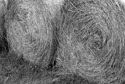 Photograph - Hay Bales by Beth Vincent