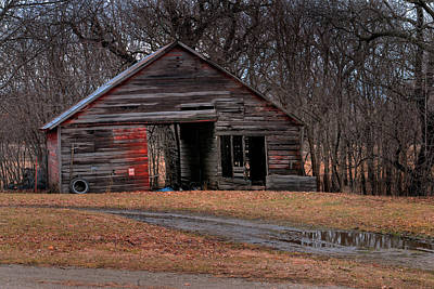 Photograph - Hay Barn by Don Wolf