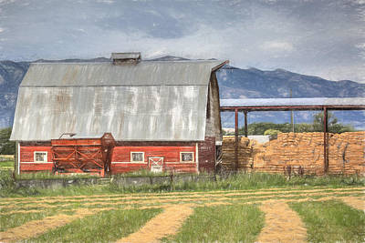 Photograph - Hay Barn by Donna Kennedy