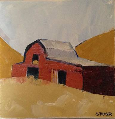 Painting - Hay Barn by Sally Fraser
