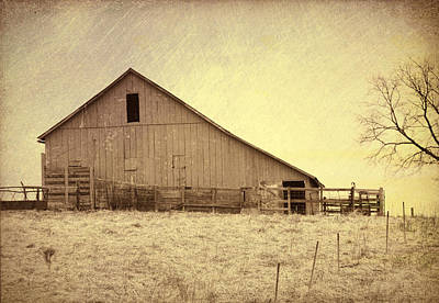 Photograph - Hay Barn by Susan Crossman Buscho