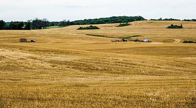 Digital Art - Hay Harvest Time by Elijah Knight