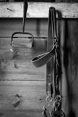 Photograph - Hay Hook And Harness by Jeff Phillippi