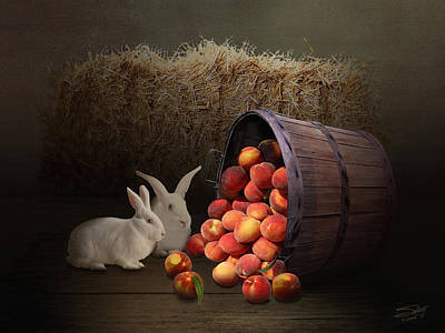 Painting - Fruit Of The Rabbit by M Spadecaller