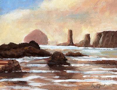Painting - Hay Stack Reef by Randy Sprout