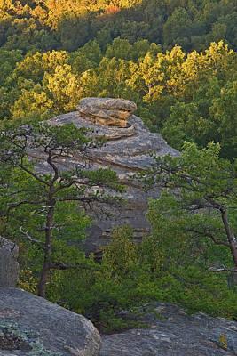Hay Stack Rock.  Art Print