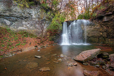 Photograph - Hayden Falls Park - Dublin Ohio by Gregory Ballos