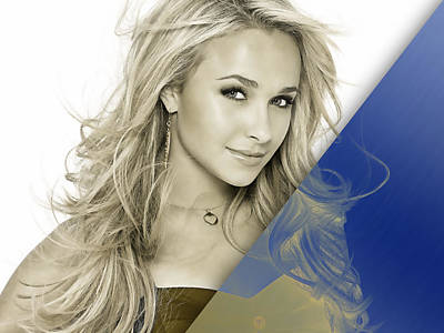 Hayden Panettiere Mixed Media - Hayden Panettiere Collection by Marvin Blaine