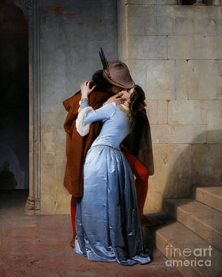 Hayez: The Kiss Art Print by Granger