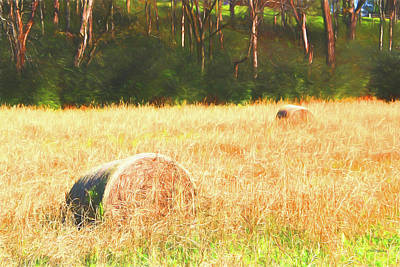 Painting - Hayfield 483 - Painting by Ericamaxine Price