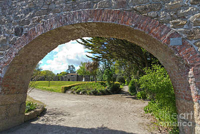 Photograph - Hayle Foundry Grist Mill Garden by Terri Waters