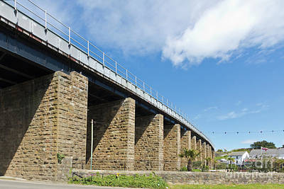 Photograph - Hayle Railway Bridge by Terri Waters