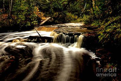 Photograph - Haymeadow Creek Falls by Matthew Winn
