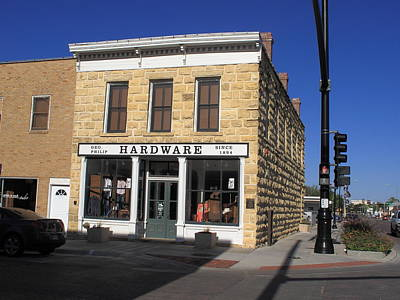 Photograph - Hays, Kansas - Hardware Store by Frank Romeo