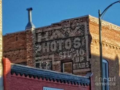 Photograph - Hays Photo Studio by Tony Baca