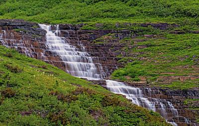 Photograph - Haystack Creek And Bear Grass by Loree Johnson