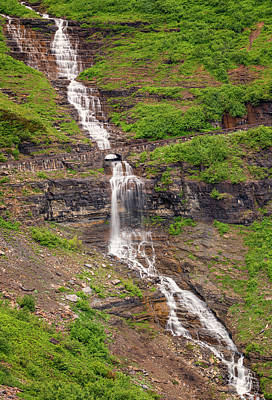 Photograph - Haystack Creek - Glacier National Park by Loree Johnson