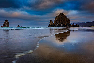Photograph - Haystack Dawn by Rick Berk