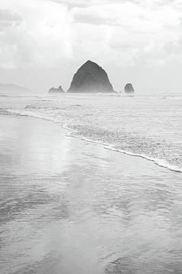 Photograph - Haystack Monochrome by Tim Newton
